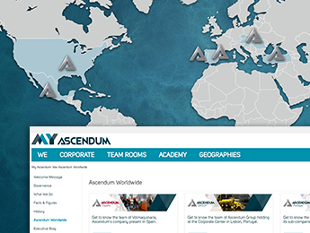 Ascendum Intranet